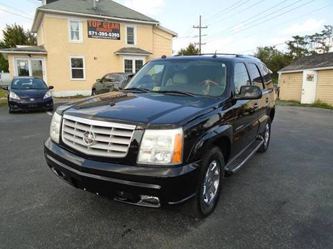 2004 Cadillac Escalade for sale at Top Gear Motors in Winchester VA