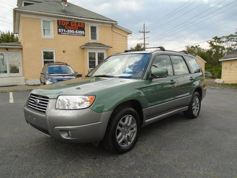 2007 Subaru Forester for sale at Top Gear Motors in Winchester VA