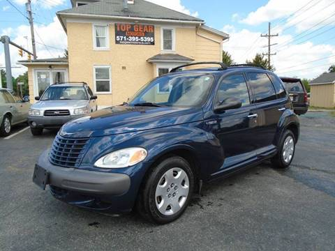 2003 Chrysler PT Cruiser for sale at Top Gear Motors in Winchester VA