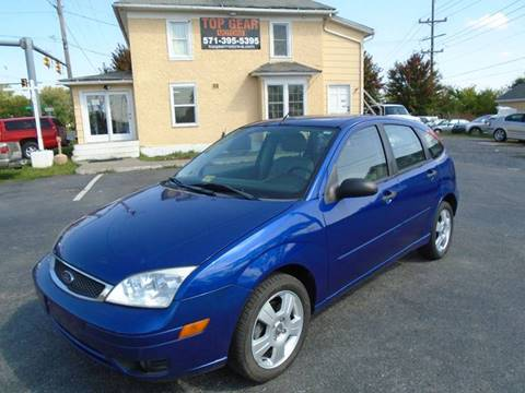 2006 Ford Focus for sale at Top Gear Motors in Winchester VA