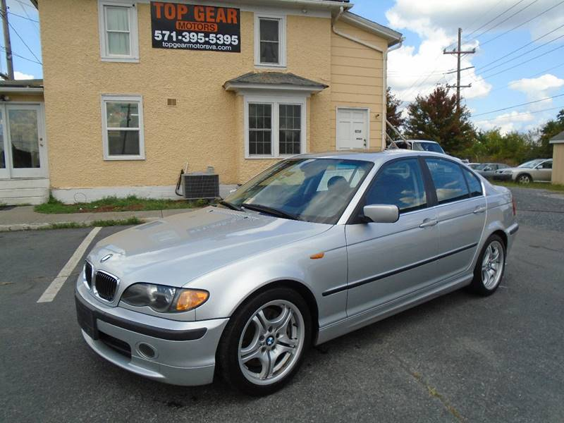 Bmw Used Cars Financing For Sale Winchester Top Gear Motors - 2004 bmw models