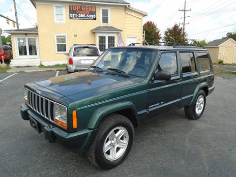 2000 Jeep Cherokee for sale at Top Gear Motors in Winchester VA