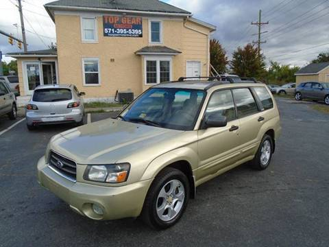 2003 Subaru Forester for sale in Winchester, VA