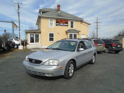2002 Mercury Sable for sale at Top Gear Motors in Winchester VA