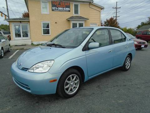 2002 Toyota Prius for sale at Top Gear Motors in Winchester VA