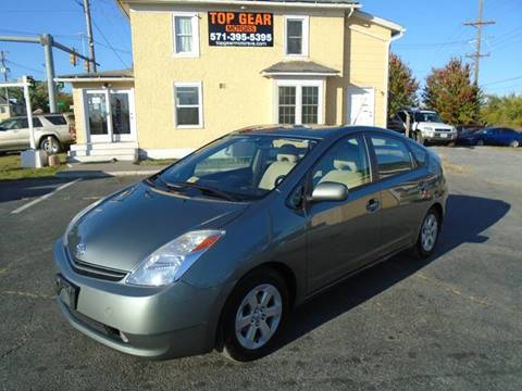 2005 Toyota Prius for sale at Top Gear Motors in Winchester VA