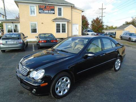 2006 Mercedes-Benz C-Class for sale at Top Gear Motors in Winchester VA