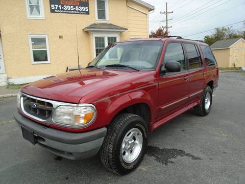 1998 Ford Explorer for sale at Top Gear Motors in Winchester VA