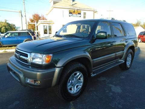2000 Toyota 4Runner for sale at Top Gear Motors in Winchester VA