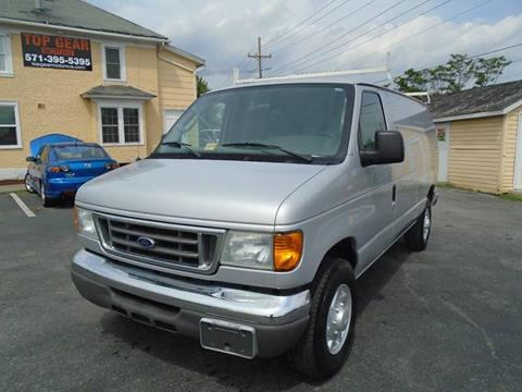 2004 Ford E-Series Cargo for sale at Top Gear Motors in Winchester VA