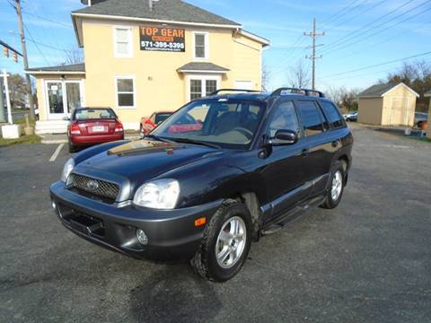 2004 Hyundai Santa Fe for sale at Top Gear Motors in Winchester VA