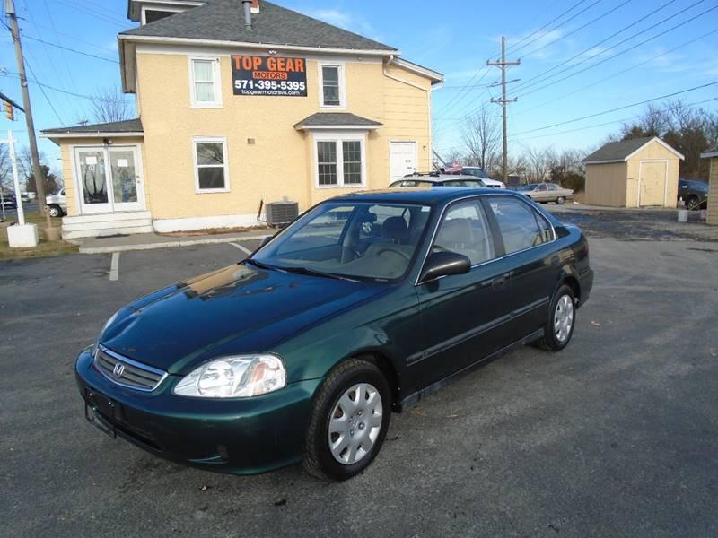 2000 Honda Civic LX 4dr Sedan   Winchester VA