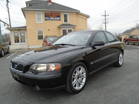 2002 Volvo S60 for sale at Top Gear Motors in Winchester VA