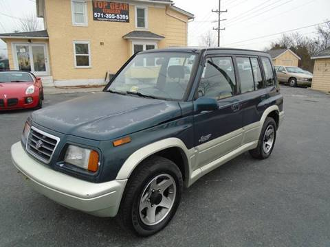 1997 Suzuki Sidekick for sale at Top Gear Motors in Winchester VA