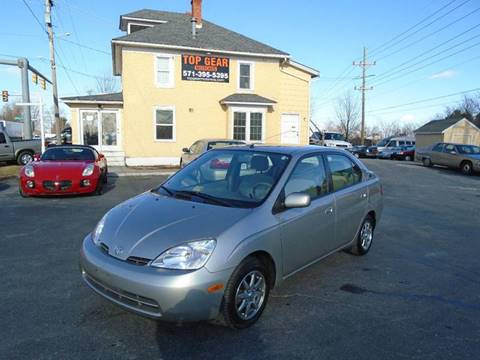 2003 Toyota Prius for sale at Top Gear Motors in Winchester VA