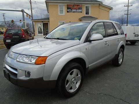 2005 Saturn Vue for sale at Top Gear Motors in Winchester VA