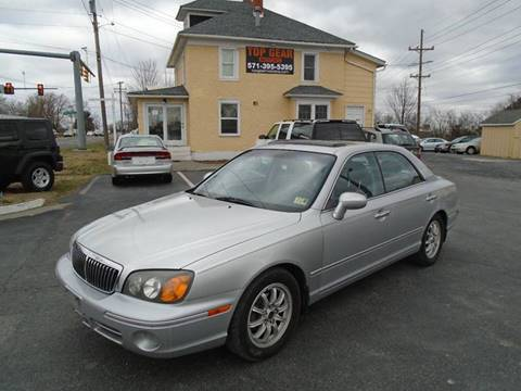2002 Hyundai XG350 for sale at Top Gear Motors in Winchester VA