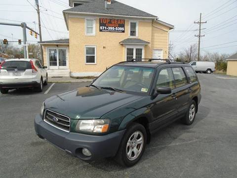 2004 Subaru Forester for sale at Top Gear Motors in Winchester VA