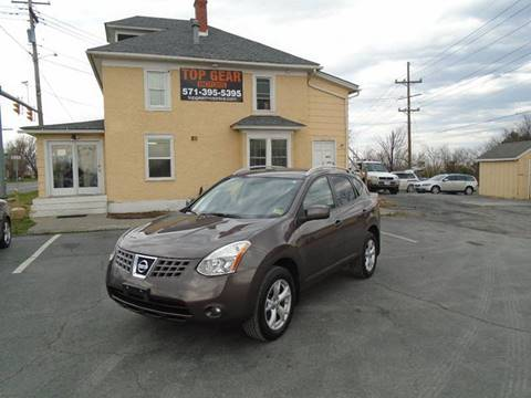2008 Nissan Rogue for sale at Top Gear Motors in Winchester VA