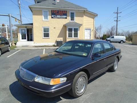 1996 Lincoln Continental For Sale Carsforsale Com