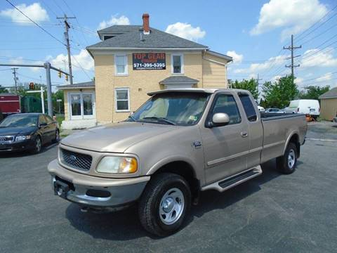 1998 Ford F-150 for sale at Top Gear Motors in Winchester VA