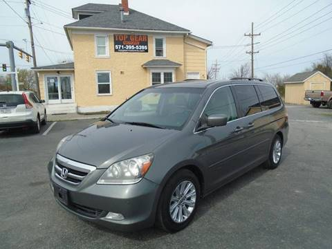 2007 Honda Odyssey for sale at Top Gear Motors in Winchester VA