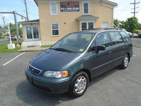 1998 Honda Odyssey for sale at Top Gear Motors in Winchester VA
