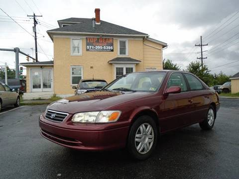 2001 Toyota Camry for sale at Top Gear Motors in Winchester VA