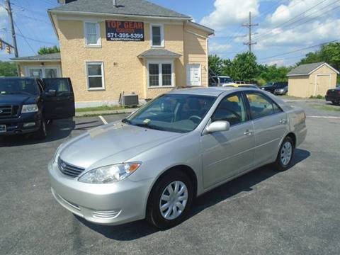 2005 Toyota Camry for sale at Top Gear Motors in Winchester VA