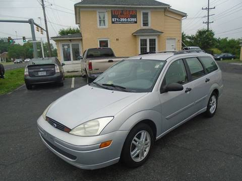 2001 Ford Focus for sale at Top Gear Motors in Winchester VA