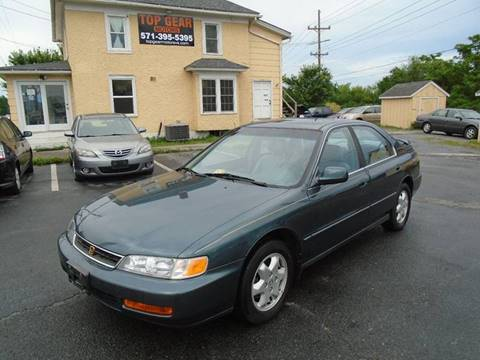 1996 Honda Accord for sale at Top Gear Motors in Winchester VA