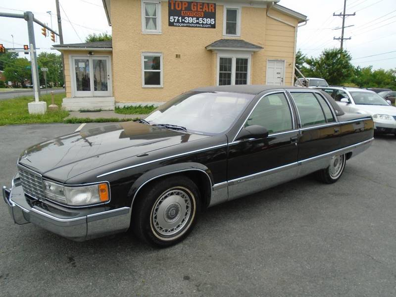 1995 Cadillac Fleetwood for sale at Top Gear Motors in Winchester VA
