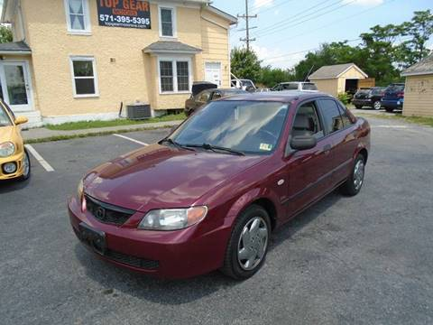 2003 Mazda Protege for sale at Top Gear Motors in Winchester VA