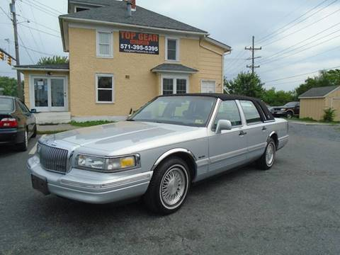 1997 Lincoln Town Car for sale at Top Gear Motors in Winchester VA