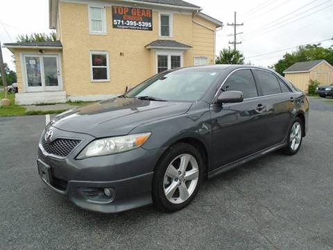 2010 Toyota Camry for sale at Top Gear Motors in Winchester VA