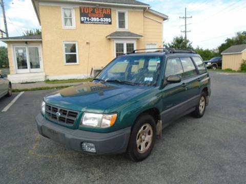 1999 Subaru Forester for sale at Top Gear Motors in Winchester VA