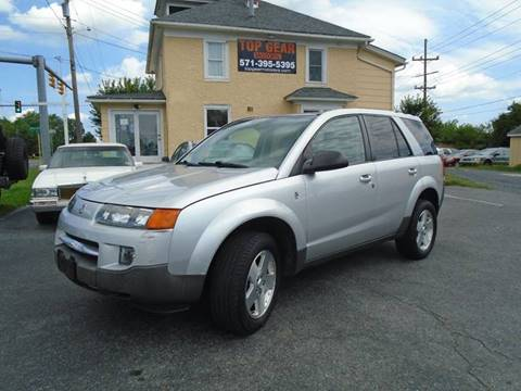 2004 Saturn Vue for sale at Top Gear Motors in Winchester VA