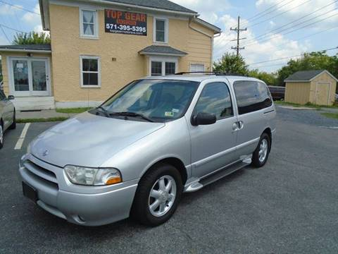 2001 Nissan Quest for sale at Top Gear Motors in Winchester VA