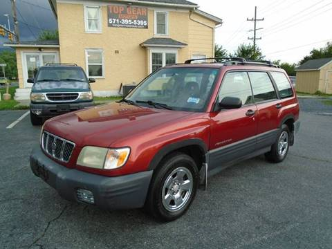 2001 Subaru Forester for sale at Top Gear Motors in Winchester VA