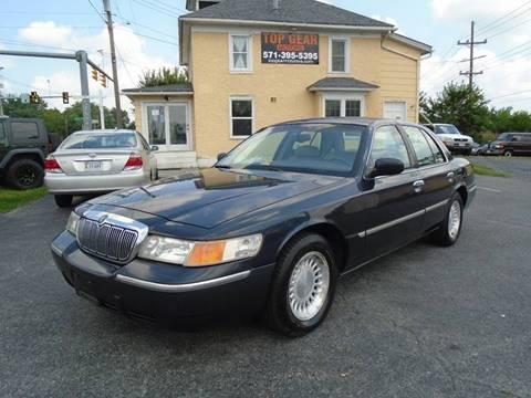 1999 Mercury Grand Marquis for sale at Top Gear Motors in Winchester VA