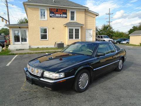 1996 Cadillac Eldorado for sale at Top Gear Motors in Winchester VA