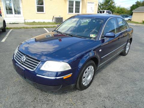 2003 Volkswagen Passat for sale at Top Gear Motors in Winchester VA
