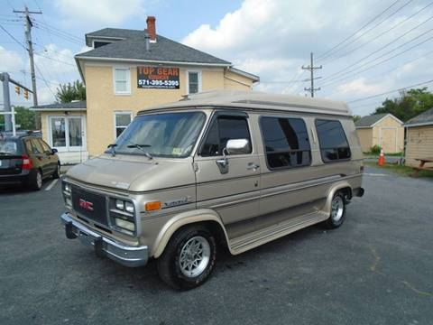 1994 GMC Vandura for sale at Top Gear Motors in Winchester VA