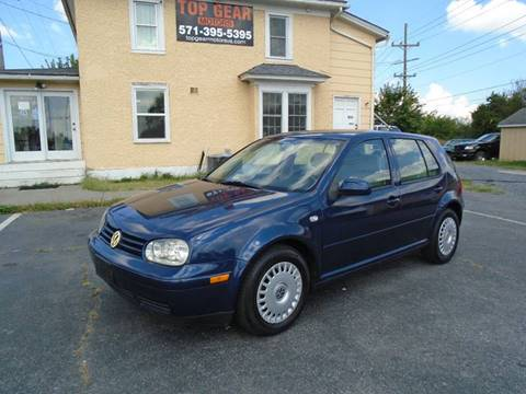 2002 Volkswagen Golf for sale at Top Gear Motors in Winchester VA