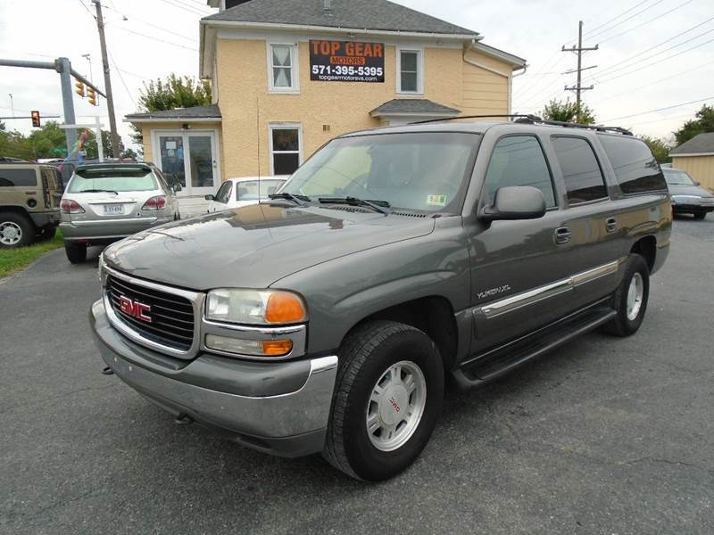 2002 GMC Yukon XL for sale at Top Gear Motors in Winchester VA