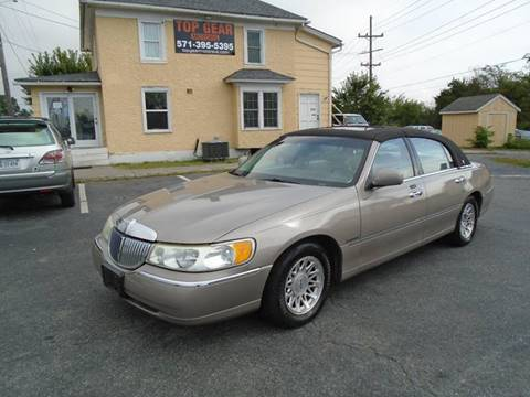 1999 Lincoln Town Car for sale at Top Gear Motors in Winchester VA