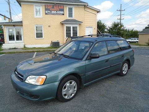 2001 Subaru Legacy for sale at Top Gear Motors in Winchester VA