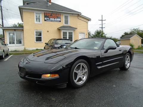 2002 Chevrolet Corvette for sale at Top Gear Motors in Winchester VA