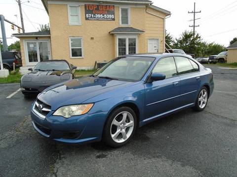 2008 Subaru Legacy for sale at Top Gear Motors in Winchester VA