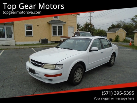 1997 Nissan Maxima for sale at Top Gear Motors in Winchester VA
